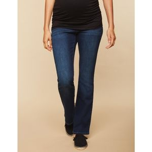 Indigo Blue Secret Fit Bootcut Maternity Jeans